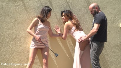 Photo number 10 from Newbie Penelope Gets Suspended, Flogged and Fucked shot for Public Disgrace on Kink.com. Featuring Steve Holmes, Pablo Ferrari, Valentina Bianco, Melody Petite, Max Cortes, Frida Sante and Penelope Cum in hardcore BDSM & Fetish porn.
