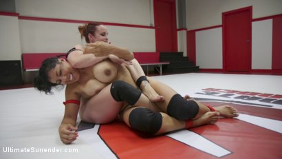 Photo number 9 from Beautiful big Tittied Wrestlers Struggle to make each other cum shot for Ultimate Surrender on Kink.com. Featuring Bella Rossi and Izamar Gutierrez in hardcore BDSM & Fetish porn.