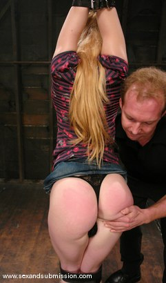 Photo number 2 from Tawni Ryden shot for Sex And Submission on Kink.com. Featuring Tawni Ryden and Brandon Iron in hardcore BDSM & Fetish porn.