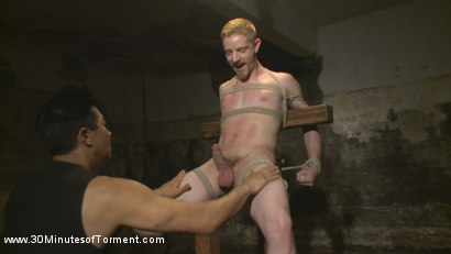 Photo number 1 from Cody Winter Discovers New Torments and Lets out His Inner Painslut  shot for 30 Minutes of Torment on Kink.com. Featuring Cody Winter in hardcore BDSM & Fetish porn.