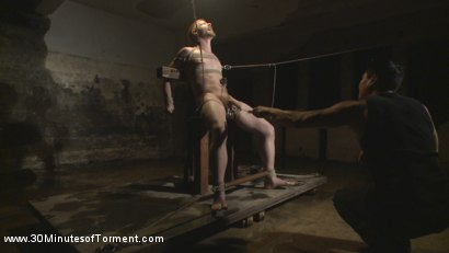 Photo number 5 from Cody Winter Discovers New Torments and Lets out His Inner Painslut  shot for 30 Minutes of Torment on Kink.com. Featuring Cody Winter in hardcore BDSM & Fetish porn.