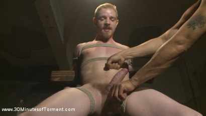Photo number 3 from Cody Winter Discovers New Torments and Lets out His Inner Painslut  shot for 30 Minutes of Torment on Kink.com. Featuring Cody Winter in hardcore BDSM & Fetish porn.
