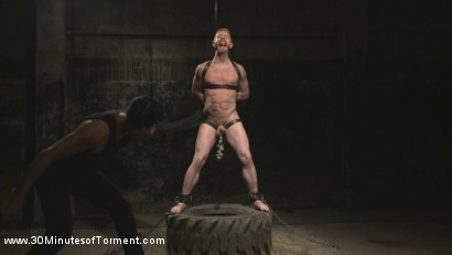 Photo number 8 from Cody Winter Discovers New Torments and Lets out His Inner Painslut  shot for 30 Minutes of Torment on Kink.com. Featuring Cody Winter in hardcore BDSM & Fetish porn.