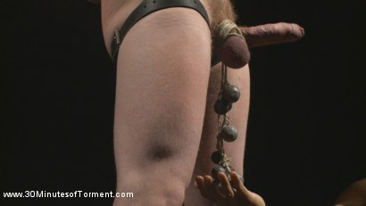 Photo number 7 from Cody Winter Discovers New Torments and Lets out His Inner Painslut  shot for 30 Minutes of Torment on Kink.com. Featuring Cody Winter in hardcore BDSM & Fetish porn.
