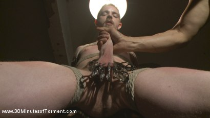 Photo number 4 from Cody Winter Discovers New Torments and Lets out His Inner Painslut  shot for 30 Minutes of Torment on Kink.com. Featuring Cody Winter in hardcore BDSM & Fetish porn.