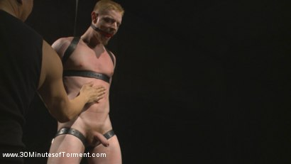 Photo number 6 from Cody Winter Discovers New Torments and Lets out His Inner Painslut  shot for 30 Minutes of Torment on Kink.com. Featuring Cody Winter in hardcore BDSM & Fetish porn.
