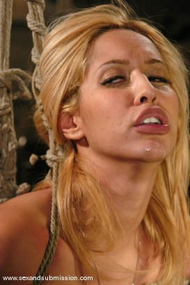 Photo number 6 from Isis Love and Ben English shot for Sex And Submission on Kink.com. Featuring Isis Love and Ben English in hardcore BDSM & Fetish porn.