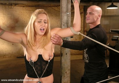 Photo number 2 from Isis Love and Ben English shot for Sex And Submission on Kink.com. Featuring Isis Love and Ben English in hardcore BDSM & Fetish porn.
