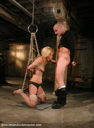 Photo number 4 from Isis Love and Ben English shot for Sex And Submission on Kink.com. Featuring Isis Love and Ben English in hardcore BDSM & Fetish porn.