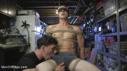 Photo number 13 from Home Invasion: Straight Boy Captured and Edged shot for Men On Edge on Kink.com. Featuring Zane Anders in hardcore BDSM & Fetish porn.