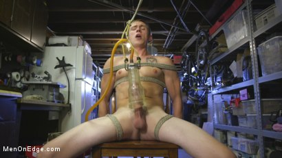 Photo number 10 from Home Invasion: Straight Boy Captured and Edged shot for Men On Edge on Kink.com. Featuring Zane Anders in hardcore BDSM & Fetish porn.