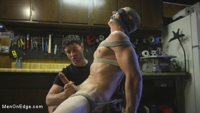 Photo number 12 from Home Invasion: Straight Boy Captured and Edged shot for Men On Edge on Kink.com. Featuring Zane Anders in hardcore BDSM & Fetish porn.
