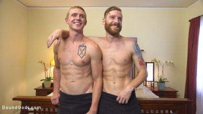 Photo number 15 from Perverse Gardener Brutally Torments Southern Straight Boy  shot for Bound Gods on Kink.com. Featuring Zane Anders and Sebastian Keys in hardcore BDSM & Fetish porn.