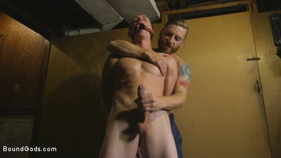 Photo number 1 from Perverse Gardener Brutally Torments Southern Straight Boy  shot for Bound Gods on Kink.com. Featuring Zane Anders and Sebastian Keys in hardcore BDSM & Fetish porn.