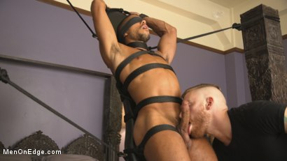 Photo number 8 from Tickled to the Extreme in Tight Bondage shot for Men On Edge on Kink.com. Featuring Mike Maverick in hardcore BDSM & Fetish porn.