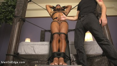Photo number 7 from Tickled to the Extreme in Tight Bondage shot for Men On Edge on Kink.com. Featuring Mike Maverick in hardcore BDSM & Fetish porn.