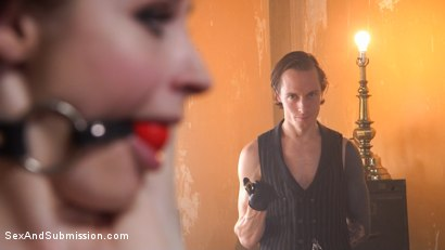 Photo number 3 from The Machinist XXX shot for Sex And Submission on Kink.com. Featuring Violet Monroe and Owen Gray in hardcore BDSM & Fetish porn.