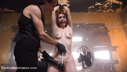 Photo number 4 from The Machinist XXX shot for Sex And Submission on Kink.com. Featuring Violet Monroe and Owen Gray in hardcore BDSM & Fetish porn.