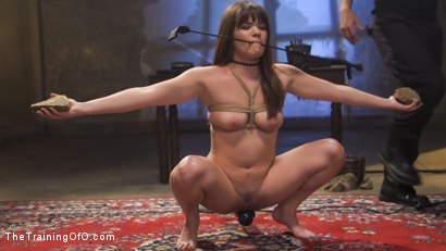 Slave Training of Alison Rey