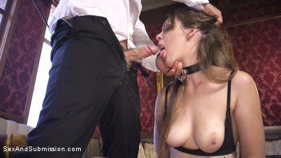 Photo number 2 from A Slave's Love shot for Sex And Submission on Kink.com. Featuring Nora Riley and Derrick Pierce in hardcore BDSM & Fetish porn.