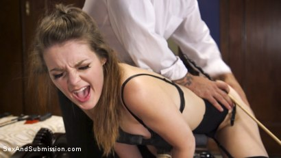Photo number 4 from A Slave's Love shot for Sex And Submission on Kink.com. Featuring Nora Riley and Derrick Pierce in hardcore BDSM & Fetish porn.