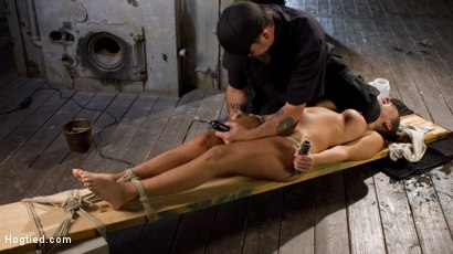 Photo number 5 from Princess Revisits Hogtied to Prove Herself to The Pope shot for Hogtied on Kink.com. Featuring Charlotte Cross and The Pope in hardcore BDSM & Fetish porn.