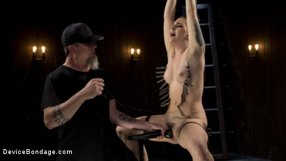 Photo number 6 from Cunt! shot for Device Bondage on Kink.com. Featuring Rachael Madori and The Pope in hardcore BDSM & Fetish porn.