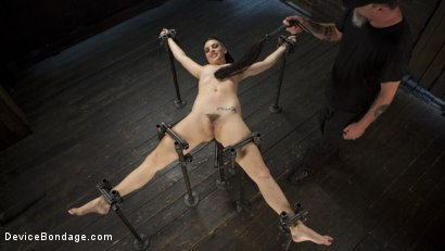 Photo number 11 from Cunt! shot for Device Bondage on Kink.com. Featuring Rachael Madori and The Pope in hardcore BDSM & Fetish porn.