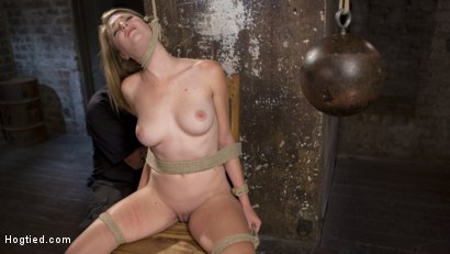 Photo number 8 from Brutal Predicament Bondage, Relentless Torment, and Screaming Orgasms! shot for Hogtied on Kink.com. Featuring Ashley Lane and The Pope in hardcore BDSM & Fetish porn.