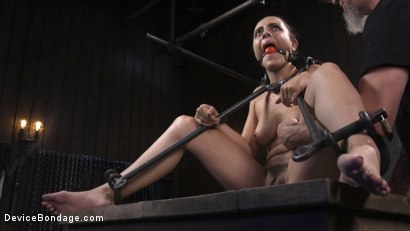 Photo number 11 from Walking the Walk shot for Device Bondage on Kink.com. Featuring Roxanne Rae and The Pope in hardcore BDSM & Fetish porn.