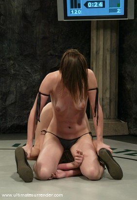 Photo number 6 from The Killer (1-1)<br>Rogue (0-0) shot for Ultimate Surrender on Kink.com. Featuring Bobbi Starr and Amber Rayne in hardcore BDSM & Fetish porn.