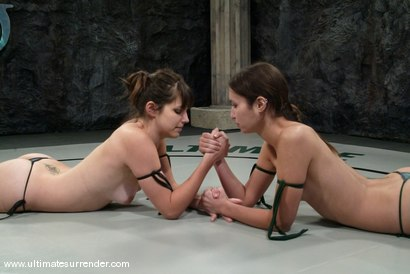 Photo number 1 from The Killer (1-1)<br>Rogue (0-0) shot for Ultimate Surrender on Kink.com. Featuring Bobbi Starr and Amber Rayne in hardcore BDSM & Fetish porn.