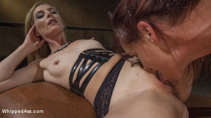 Photo number 6 from Pervert Therapy: Horny MILF bound, fisted and anally strap-on fucked! shot for Whipped Ass on Kink.com. Featuring Mona Wales and Syren de Mer in hardcore BDSM & Fetish porn.