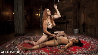 Photo number 9 from Mistress Bella's New Toy shot for Whipped Ass on Kink.com. Featuring Bella Rossi and Cali Confidential in hardcore BDSM & Fetish porn.