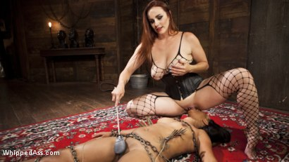 Photo number 6 from Mistress Bella's New Toy shot for Whipped Ass on Kink.com. Featuring Bella Rossi and Cali Confidential in hardcore BDSM & Fetish porn.