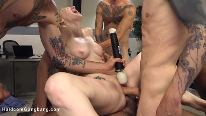 Photo number 12 from Deliriously Gangbanged shot for Hardcore Gangbang on Kink.com. Featuring Delirious Hunter, John Johnson, Owen Gray, Mickey Mod, Gage Sin and Will Havoc in hardcore BDSM & Fetish porn.