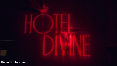 Photo number 22 from Welcome to The Hotel Divine. shot for Divine Bitches on Kink.com. Featuring D. Arclyte, Cherie DeVille and Will Havoc in hardcore BDSM & Fetish porn.