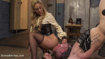 Photo number 30 from Welcome to The Hotel Divine. shot for Divine Bitches on Kink.com. Featuring D. Arclyte, Cherie DeVille and Will Havoc in hardcore BDSM & Fetish porn.