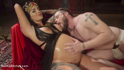 Photo number 11 from Divine Fertility!  shot for Divine Bitches on Kink.com. Featuring Mike Panic and Lola Luscious in hardcore BDSM & Fetish porn.