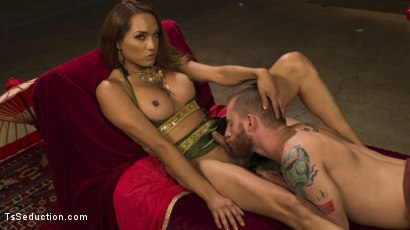Photo number 6 from Goddess Worship shot for TS Seduction on Kink.com. Featuring Sebastian Keys and Jessica Fox in hardcore BDSM & Fetish porn.