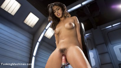 Photo number 14 from **BRAND NEW GIRL** GETS POUNDED WITH MACHINES!!! shot for Fucking Machines on Kink.com. Featuring Sophia Leone in hardcore BDSM & Fetish porn.