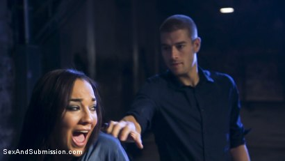 Photo number 4 from BROs Before HOs! shot for Sex And Submission on Kink.com. Featuring Xander Corvus, Amara Romani and Seth Gamble in hardcore BDSM & Fetish porn.