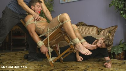 Photo number 6 from Edging Straight Boy Until He Busts a Nut Hands-Free shot for Men On Edge on Kink.com. Featuring Jordan Boss in hardcore BDSM & Fetish porn.