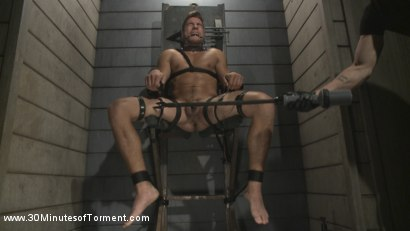 Photo number 13 from Straight Hunk - Solid Muscle - Mercilessly Beaten and Made to Cum shot for 30 Minutes of Torment on Kink.com. Featuring Jordan Boss in hardcore BDSM & Fetish porn.