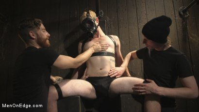 Photo number 2 from Edging the Captive Straight Boy shot for Men On Edge on Kink.com. Featuring Chris Pryce in hardcore BDSM & Fetish porn.