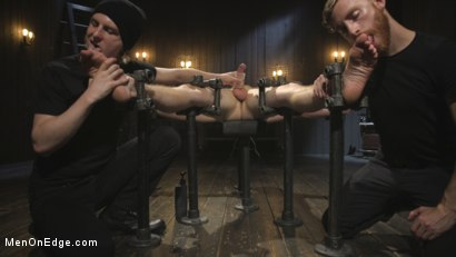 Photo number 7 from Edging the Captive Straight Boy shot for Men On Edge on Kink.com. Featuring Chris Pryce in hardcore BDSM & Fetish porn.