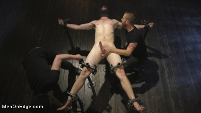 Photo number 12 from Edging the Captive Straight Boy shot for Men On Edge on Kink.com. Featuring Chris Pryce in hardcore BDSM & Fetish porn.