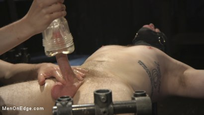 Photo number 10 from Edging the Captive Straight Boy shot for Men On Edge on Kink.com. Featuring Chris Pryce in hardcore BDSM & Fetish porn.