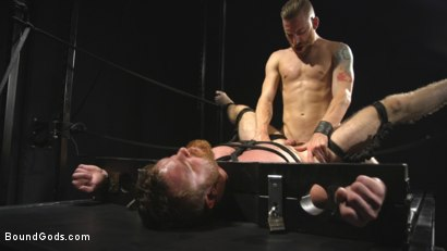 Photo number 11 from Mister Keys Meets his Match with new Switch, Scott Ambrose shot for Bound Gods on Kink.com. Featuring Scott Ambrose and Sebastian Keys in hardcore BDSM & Fetish porn.