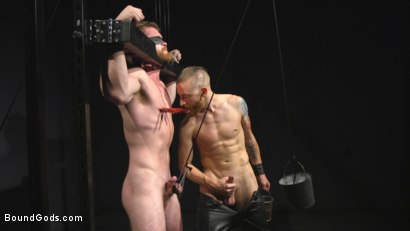 Photo number 6 from Mister Keys Meets his Match with new Switch, Scott Ambrose shot for Bound Gods on Kink.com. Featuring Scott Ambrose and Sebastian Keys in hardcore BDSM & Fetish porn.